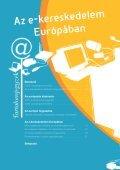 2008: visszafogott eurofória Az e-kereskedelem serkenti a ... - Page 2