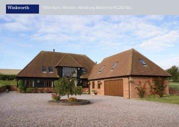 Tithe Barn, Weston, Newbury, Berkshire RG208JG - Winkworth