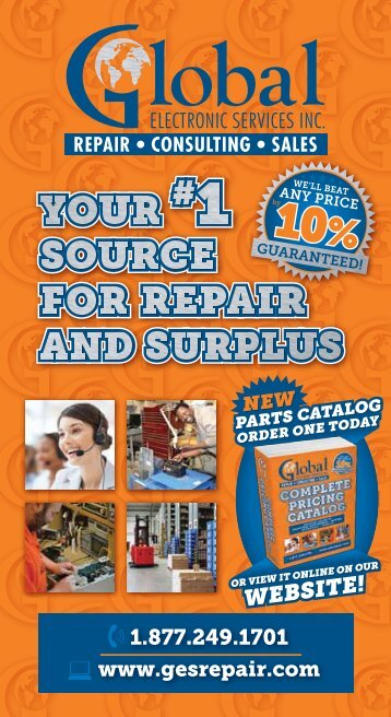 Brochure - Industrial Electronic Repair and Surplus Solutions