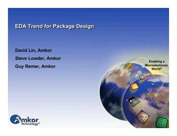EDA Trend for Package Design