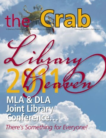 MLA & DLA Joint Library Conference… - Maryland Library Association