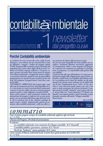 Newsletter n.1 OK - Agenda 21 Locale del Comune di Ravenna