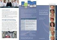 Flyer - Wir optimieren Produkte - Team Bekleidungsphysiologie 2011