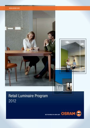 Retail Luminaire Program 2012 - Osram