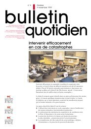 4 Nov 1999: Bulletin Quotidien No4 - International Red Cross and ...