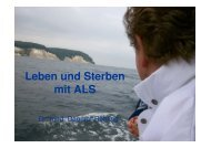 Leben und Sterben mit ALS (Frau Dr. Dagmar Röhling) - MAIK