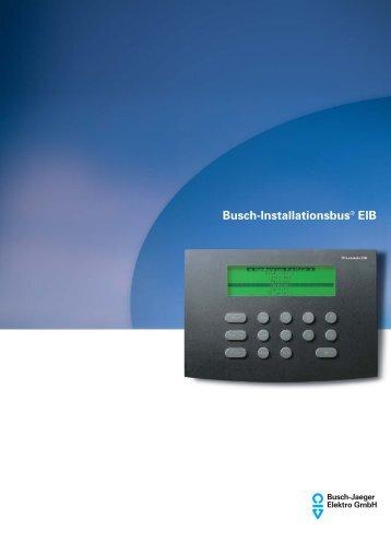 Datenblatt TP-Leitstelle EIB - Elektro Brisch GmbH & Co. KG