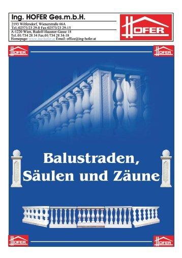Katalog Balustraden neu.cdr - ing-hofer.at