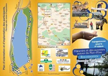 Plan d'orientation et d'implantation des participants. - Site officiel de ...
