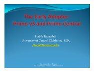 Habib Tabatabai University of Central Oklahoma USA ... - IGeLU