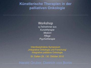 pdf Ergebnisse - Symposium Integrative Onkologie