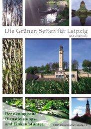 Die Grünen Seiten für Leipzig Die Grünen Seiten für Leipzig