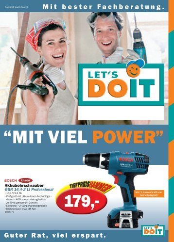 """MIT VIEL POWER"" - ing-hofer.at"