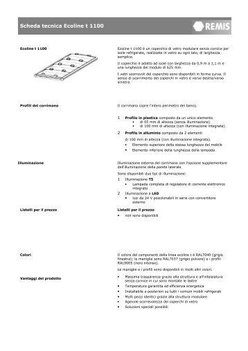Scheda tecnica-ecoline t-1100_I - remis