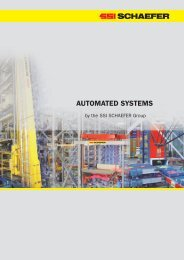 AUTOMATED SYSTEMS - SSI Schäfer