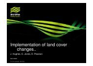Implementation of land cover changes.. - JULES