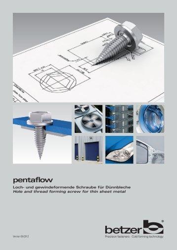 pentaflow - Schrauben Betzer GmbH & Co. KG