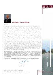 1 Editorial du Président - Febiac