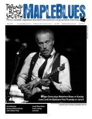May 2013 - Toronto Blues Society