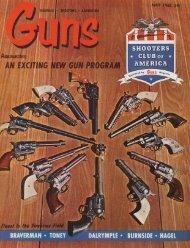 GUNS Magazine May 1963 - Jeffersonian