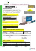 Electrodos revestidos - Cemont - Page 6