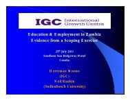 Moono_Education and Employment in Zambia.pdf - IGC