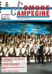 Dicembre 2011 - Comune di Campegine