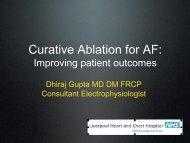 AF ablation