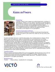 Kassa software - Brink Techniek