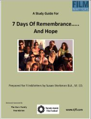 Seven Days of Remembrance