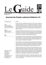 Journal du Fonds national fédéral n°4 - CGT Services publics