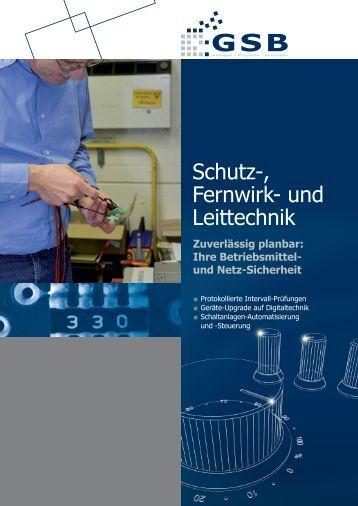 Schutz-, Fernwirk- und Leittechnik - GSB mbH & Co. KG