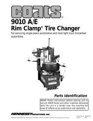 9010 A/E Tire Changer - aesco