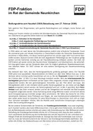 Hans Peter Kunz - FDP Kreisverband Siegen-Wittgenstein