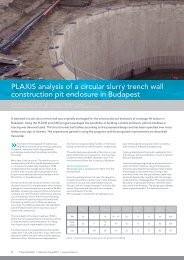 Iss30 Art2 - Analysis of Circular Slurry Trench Wall ... - Plaxis