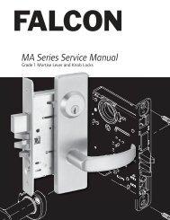 Falcon MA Series Service Manual - Access Hardware Supply
