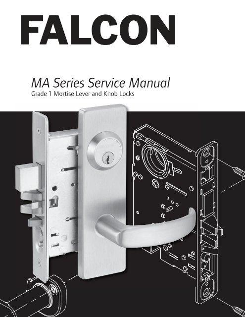 Falcon MA12 QN 630 Quantum Napa Single Dummy Mortise Lock RH STAINLESS STEEL NEW