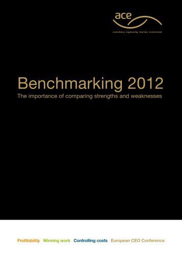 Benchmarking 2012 - Association for Consultancy and Engineering