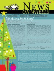 Gift Giving Made Easy! - Lubbock Meals On Wheels