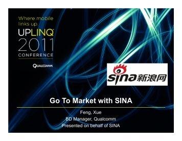 Go-To-Market-With-SINA (pdf) - Uplinq