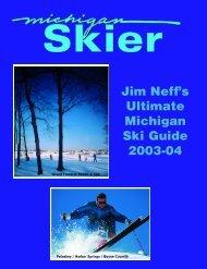 Jim Neff's Ultimate Michigan Ski Guide - pdf format - Michigan Golfer ...