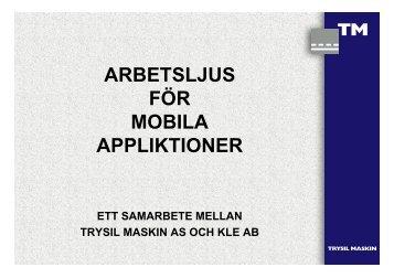 Rikard Forsgård, Trysil Maskin/Kjell Lungström, KLE AB ... - green