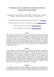 Metodología y primeros resultados de la zonificación vitícola ... - imida