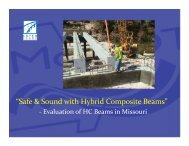 Safe & Sound with Hybrid Composite Beams #2