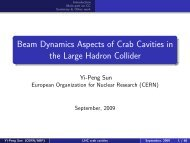 Beam Dynamics Aspects of Crab Cavities in the Large Hadron Collider
