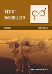 Newsletter November 2008 - Plattform sexuelle Bildung