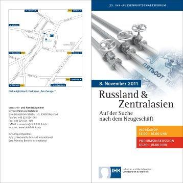 Russland & Zentralasien - German Centre Moscow