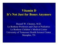 Vitamin D It's Not Just for Bones Anymore