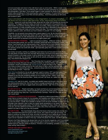 pages 121-143 - Womens Surf Style Magazine
