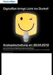 DigitalSat bringt Licht ins Dunkel ... - TV Service Tim Schindel
